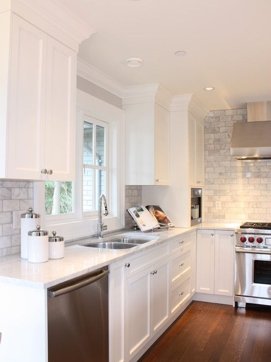 White Kitchen Design 26