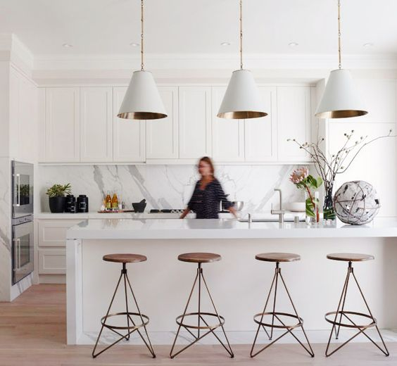 white kitchen design 39
