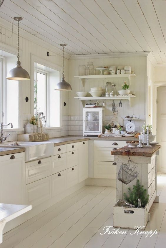 white kitchen design 50