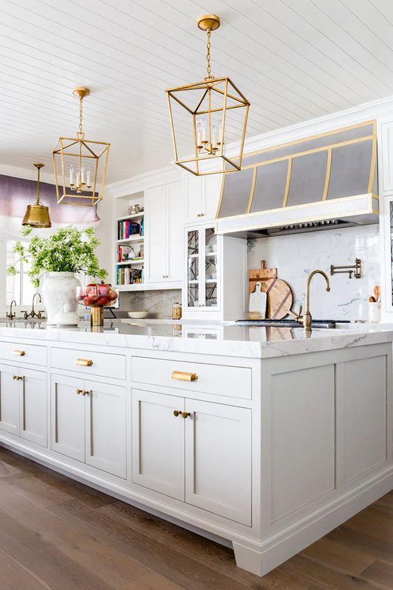 53 Best White Kitchen Designs | Ideas for White Kitchen ...