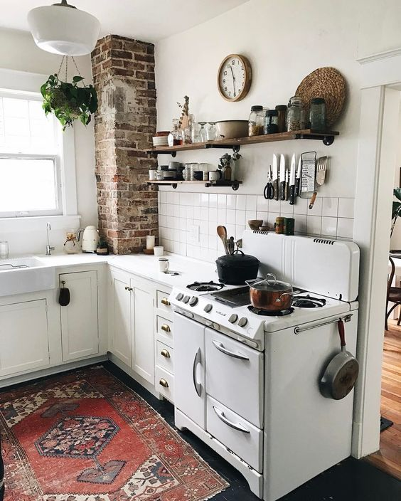 28 Antique White Kitchen Cabinets Ideas In 2019: The Moyer's Nashville Cozy Home