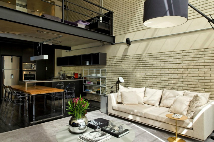 Contemporary Industrial Loft With A Warm Open Feel 7