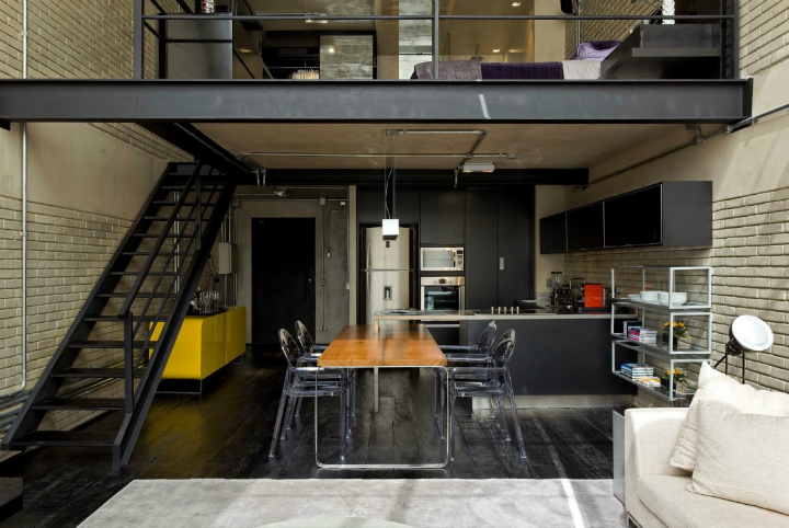 Contemporary Industrial Loft With A Warm Open Feel 9