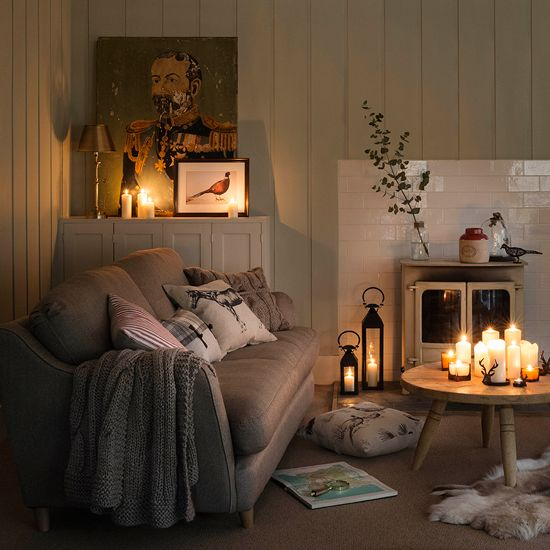 hygge home decorating idea