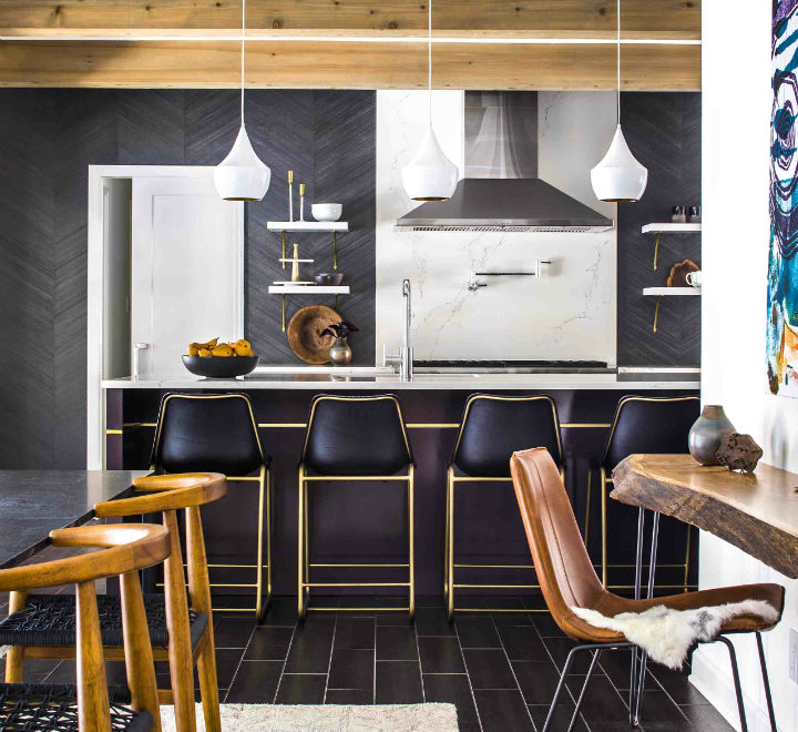 Kitchen Design With Great Mix Of Materials
