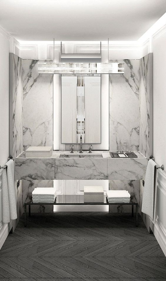 Luxury Hotel Style Bathroom design idea 2
