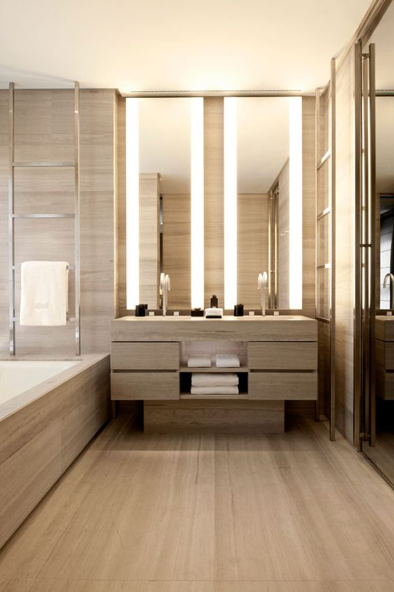 Luxury Hotel Style Bathroom design idea 4