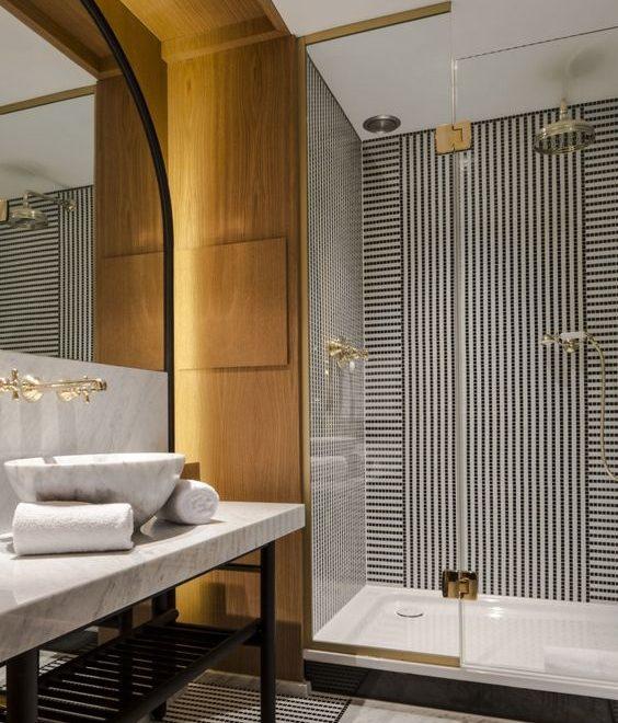 Luxury Hotel Style Bathroom design idea