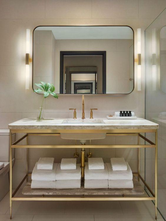 Luxury Hotel Style Bathroom Design Idea 6