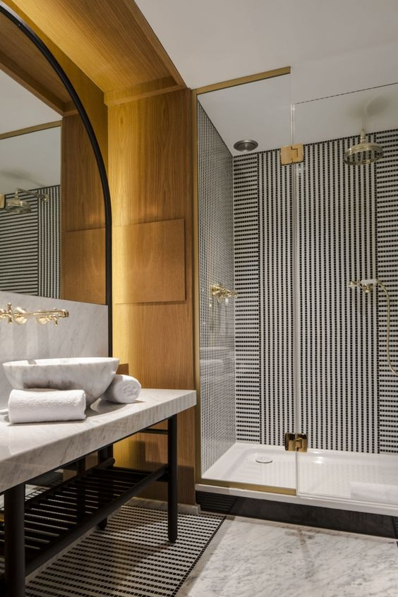 Luxury Hotel Style Bathroom design idea