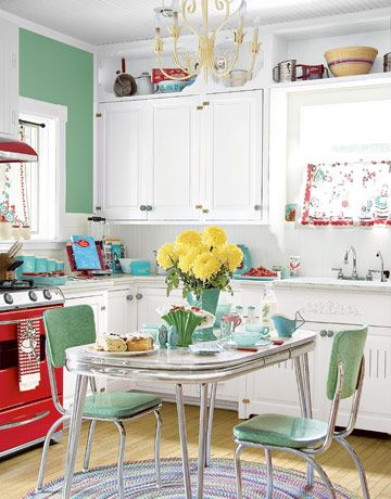 retro kitchen design idea 12