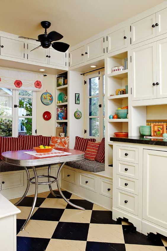 retro kitchen design idea 13