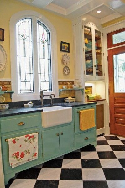 Retro Kitchen Design Idea 15 Photo