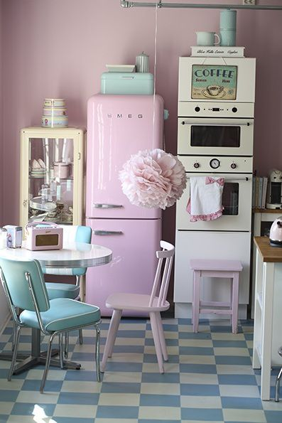 retro kitchen design idea 3