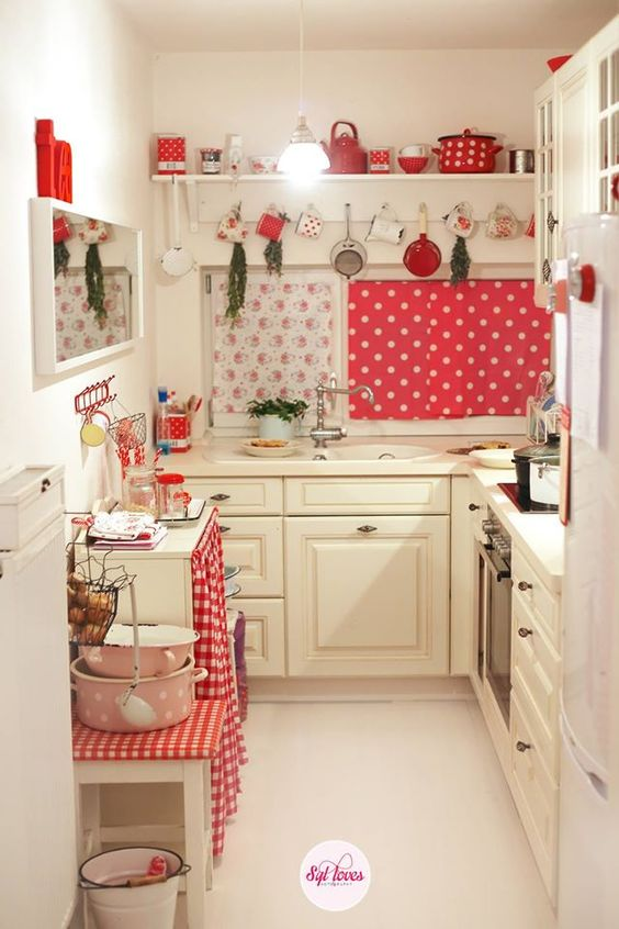 retro kitchen design idea 4