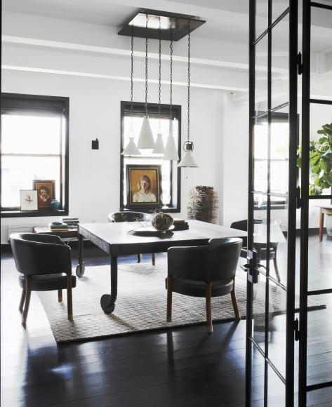 Creative Family New York Loft interior design 5