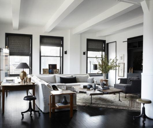 Creative Family New York Loft interior design