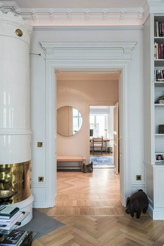 A Parisian Styled Scandinavian Apartment 12
