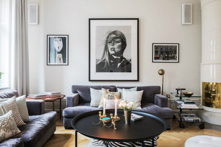 A Parisian Styled Scandinavian Apartment 3