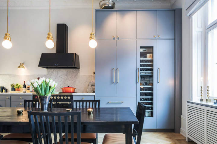 A Parisian Styled Scandinavian Apartment 5