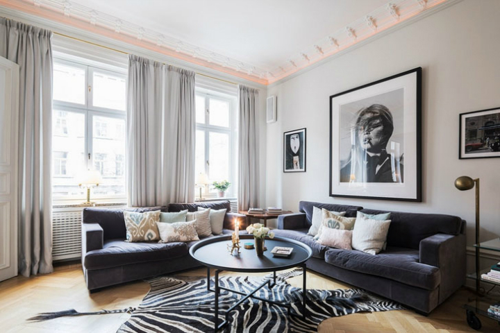 A Parisian Styled Scandinavian Apartment 8