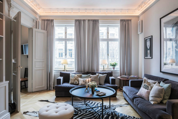 A Parisian Styled Scandinavian Apartment