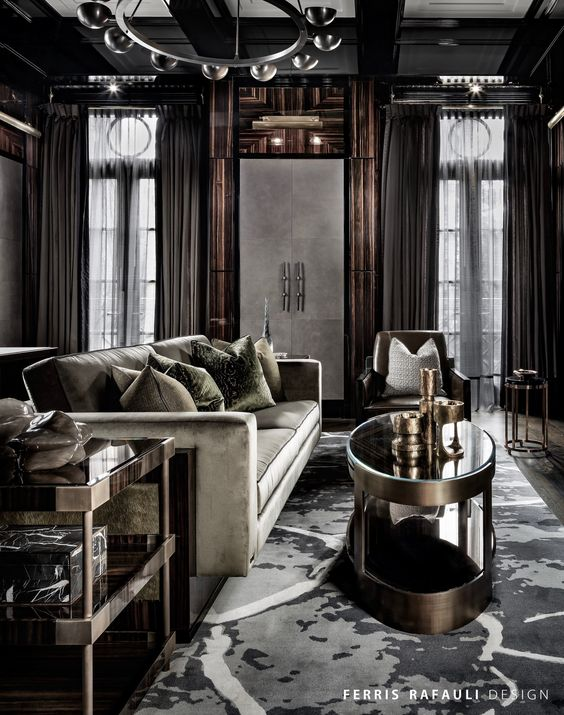 Ultra luxury interiors by ferris rafauli decoholic for Best luxury interior designers