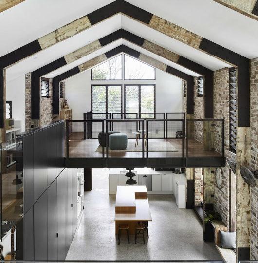 Glass House interior 5