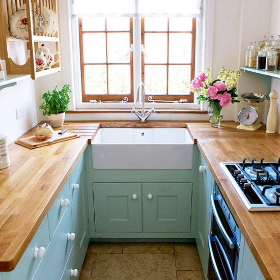green kitchen design idea 10