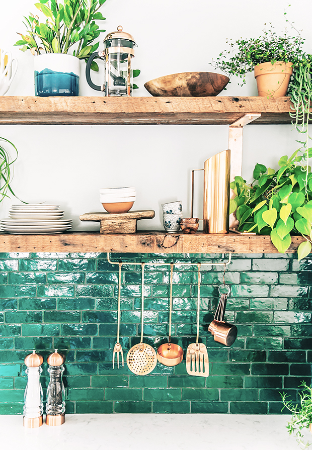51 Green Kitchen Designs | Decoholic