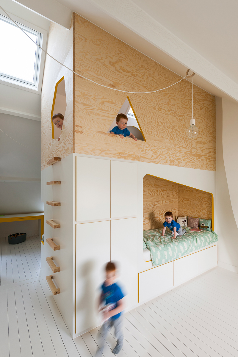 Brillant Minimalist House Bed 2