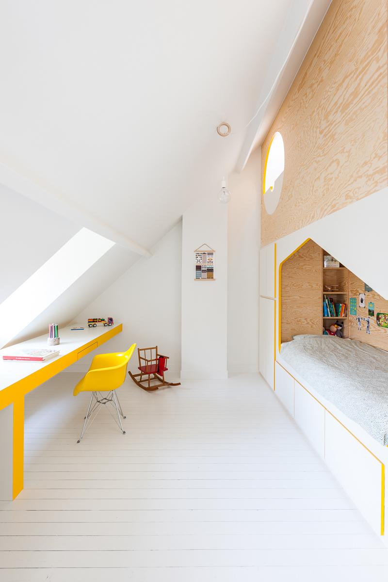 Brillant Minimalist House Bed 3