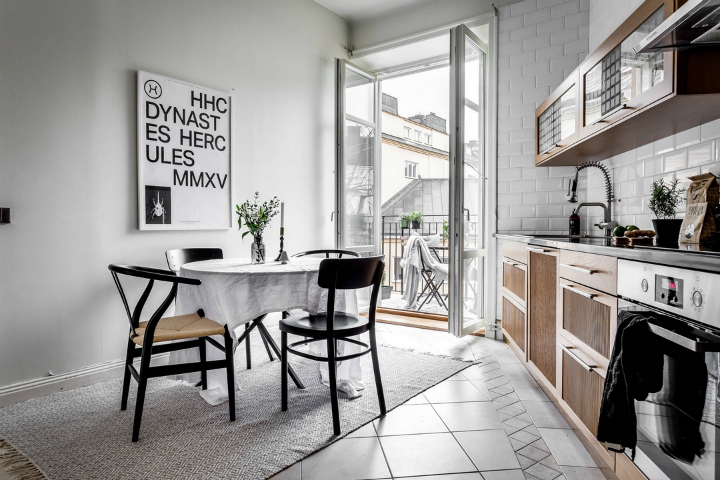 modern Scandinavian attic interior design 14