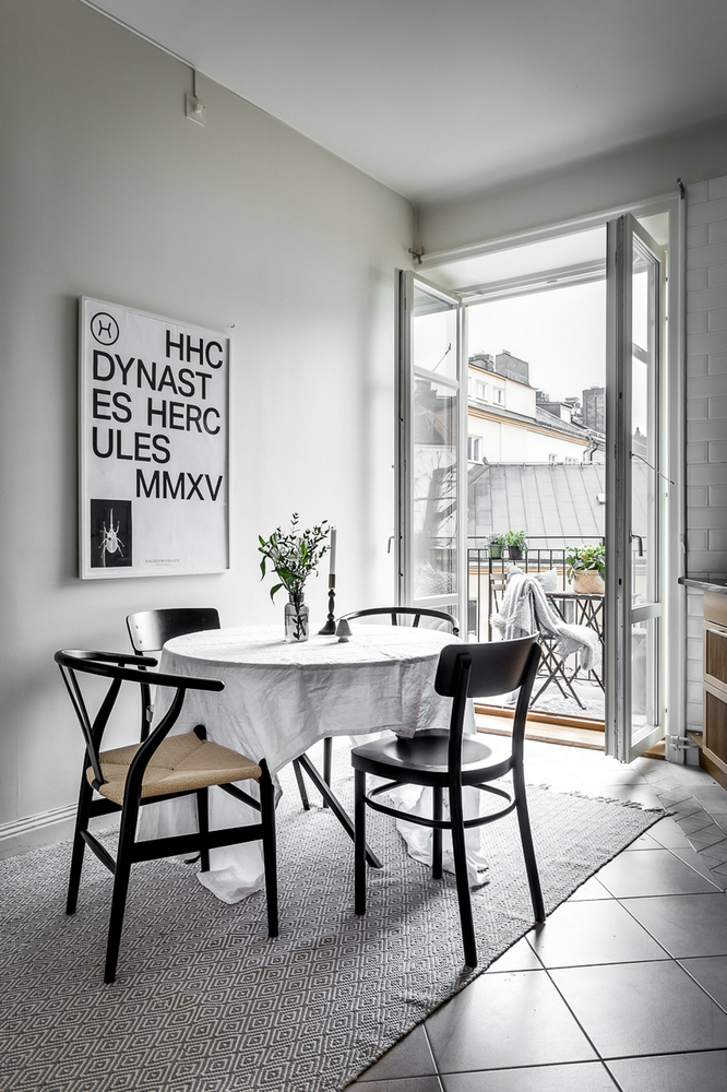 modern Scandinavian attic interior design 16