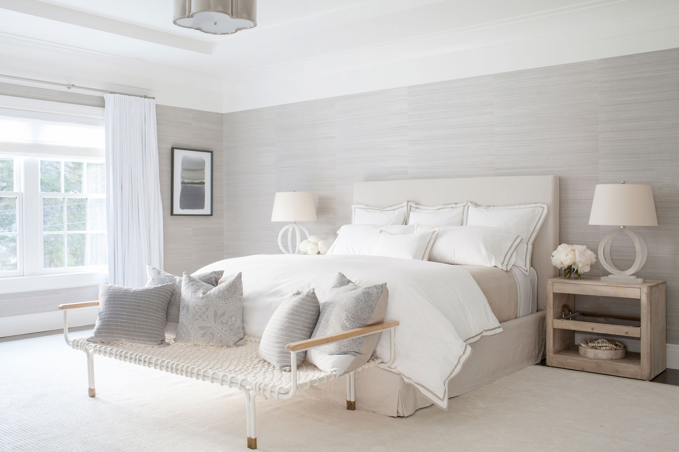 beige master bedroom an farmhouse because a modern gem decoholic 10814