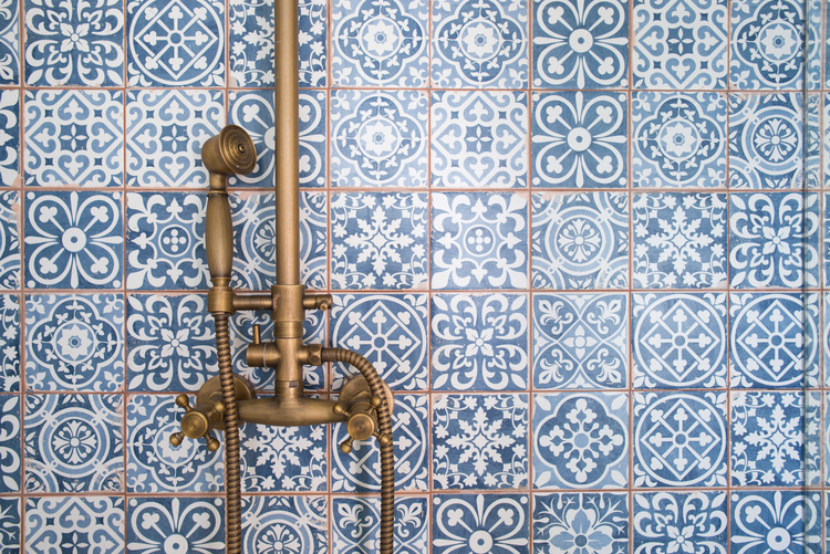 1930s Spanish bathroom Revival Remodel 11