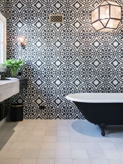 1930s Spanish bathroom Revival Remodel 17
