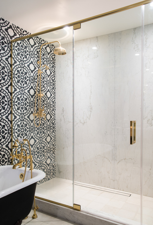 1930s Spanish bathroom Revival Remodel 18