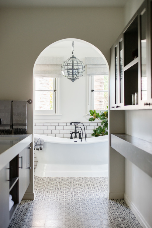 1930s Spanish bathroom Revival Remodel 6