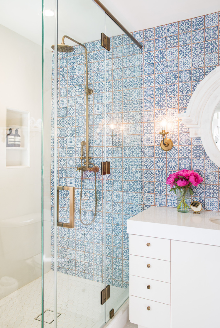 1930s Spanish bathroom Revival Remodel 9