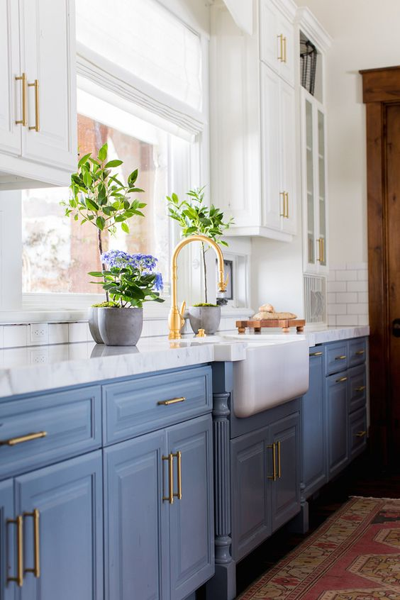 48 Blue Kitchen Design Ideas Decoholic New Blue Kitchen Designs