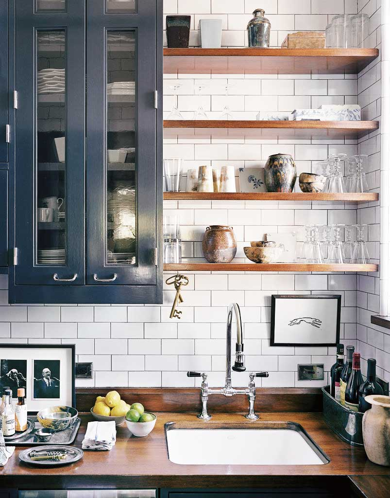 blue kitchen design 111