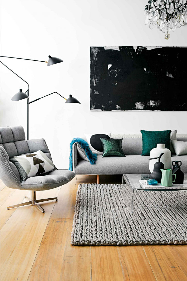 modern Scandinavian style apartment interior design 11