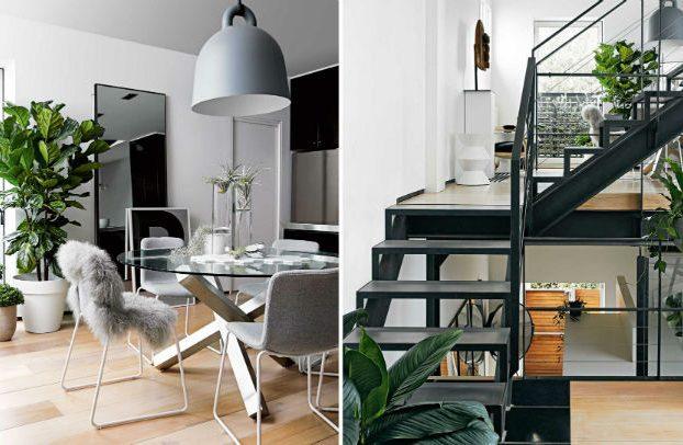 modern Scandinavian style apartment interior design