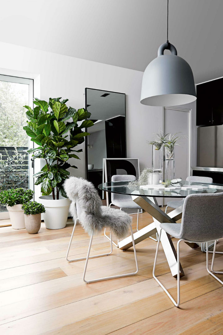 modern Scandinavian style apartment interior design 7