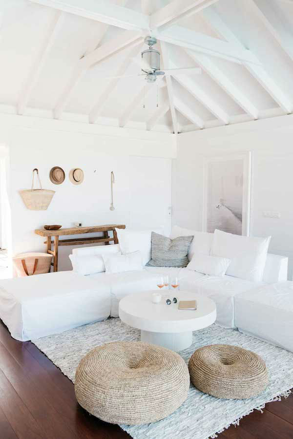 All White Vacation Home 14