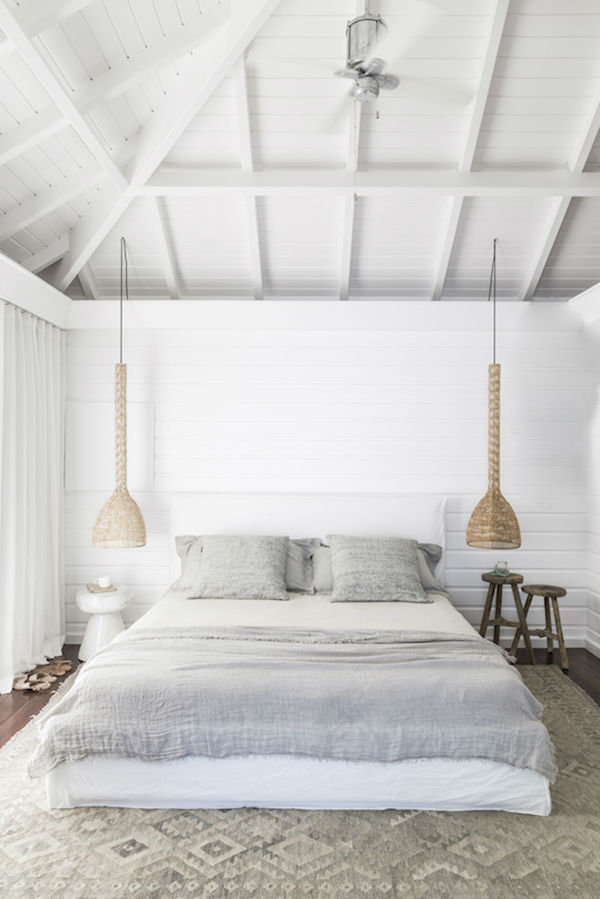 All White Vacation Home 16