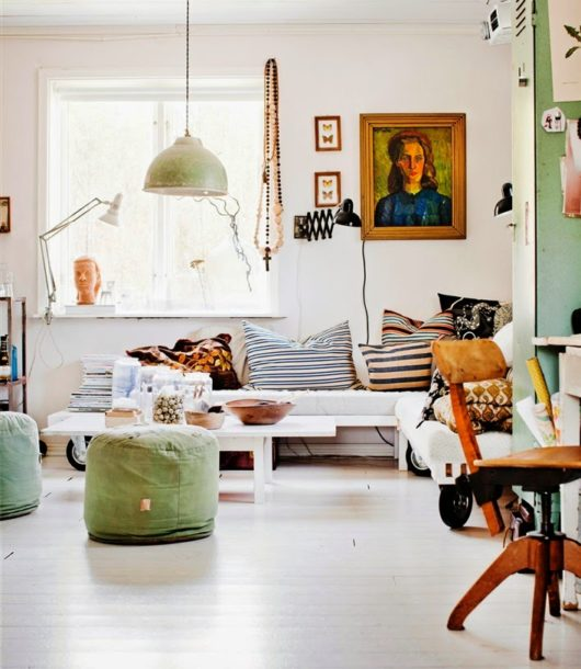 Happy Scandinavian Home interior