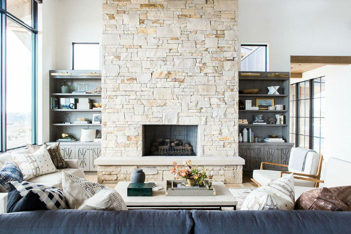 ... Rustic Meets Modern In Mountain Home 4 ...