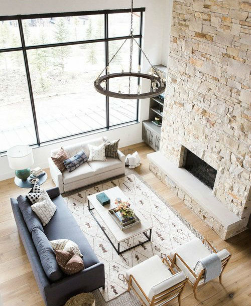 Rustic Meets Modern in Mountain Home